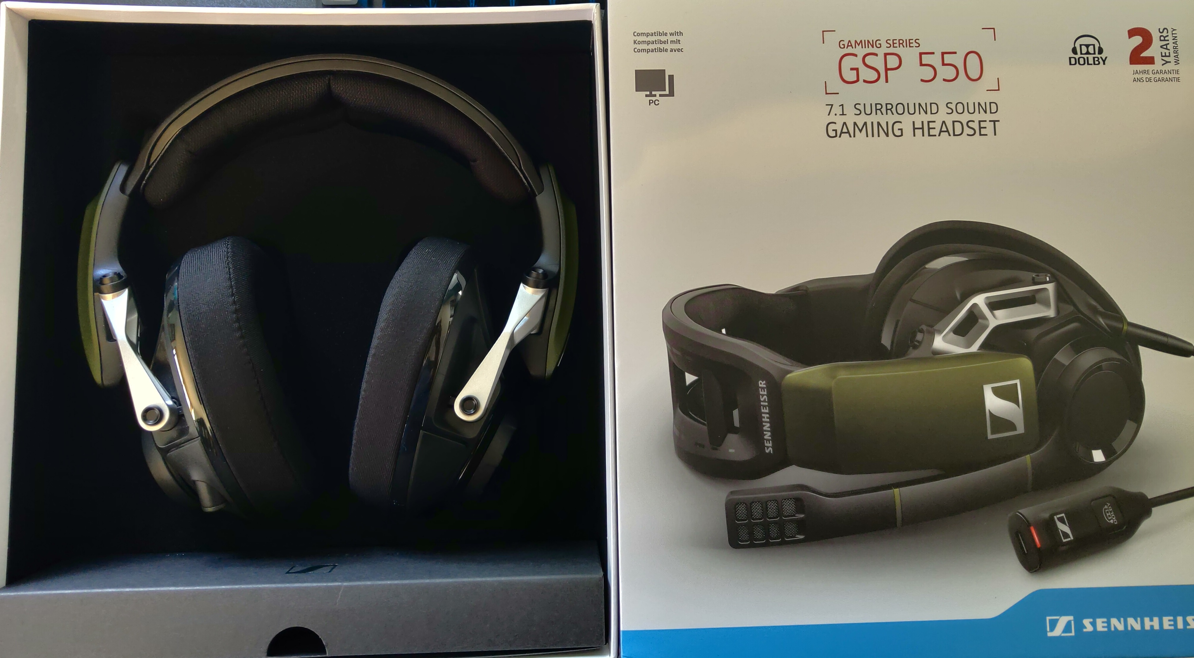 The Hardware Review – Sennheiser GSP 550 Gaming Headset
