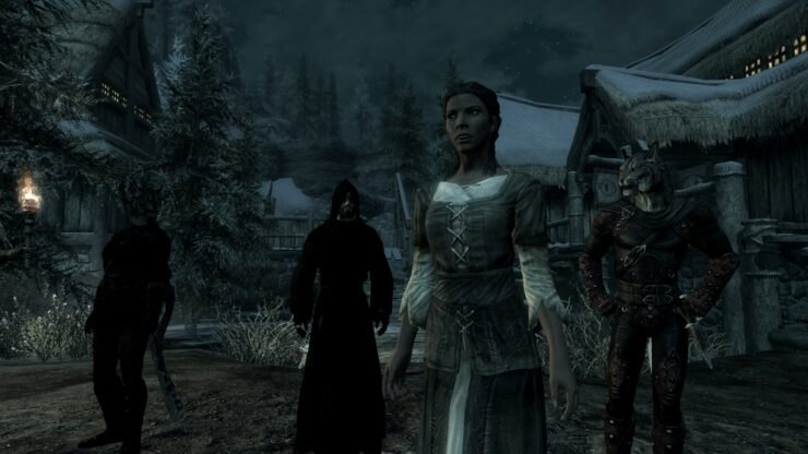 Updated The Elder Scrolls V: Skyrim The Brotherhood of Old