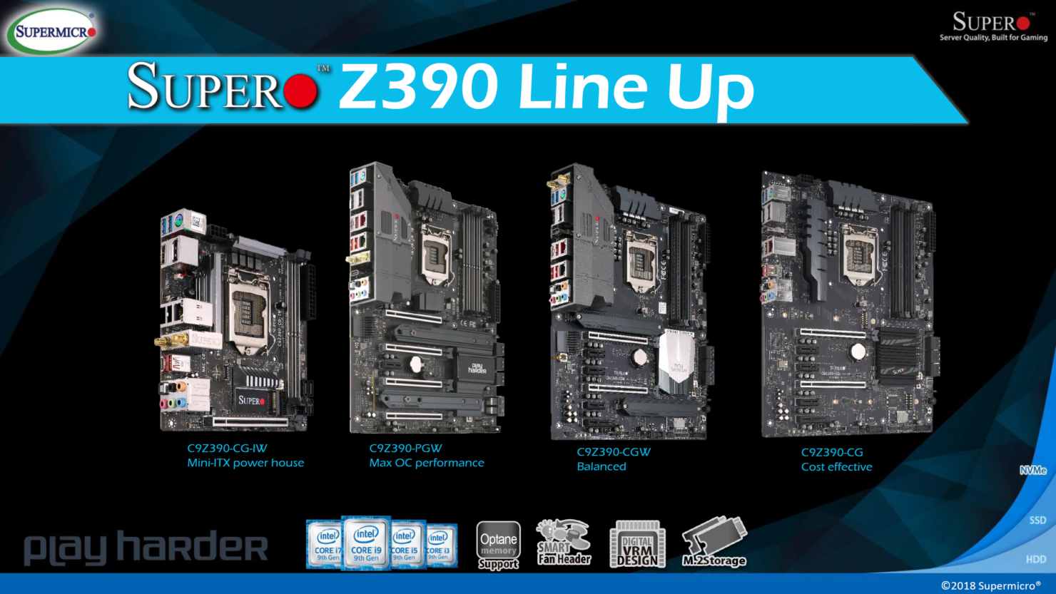SuperO Z390 Motherboards