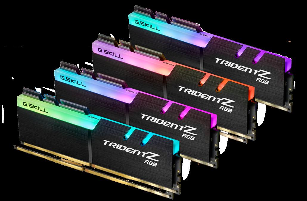 G.Skill DDR4 Trident Z RGB Memory Kits