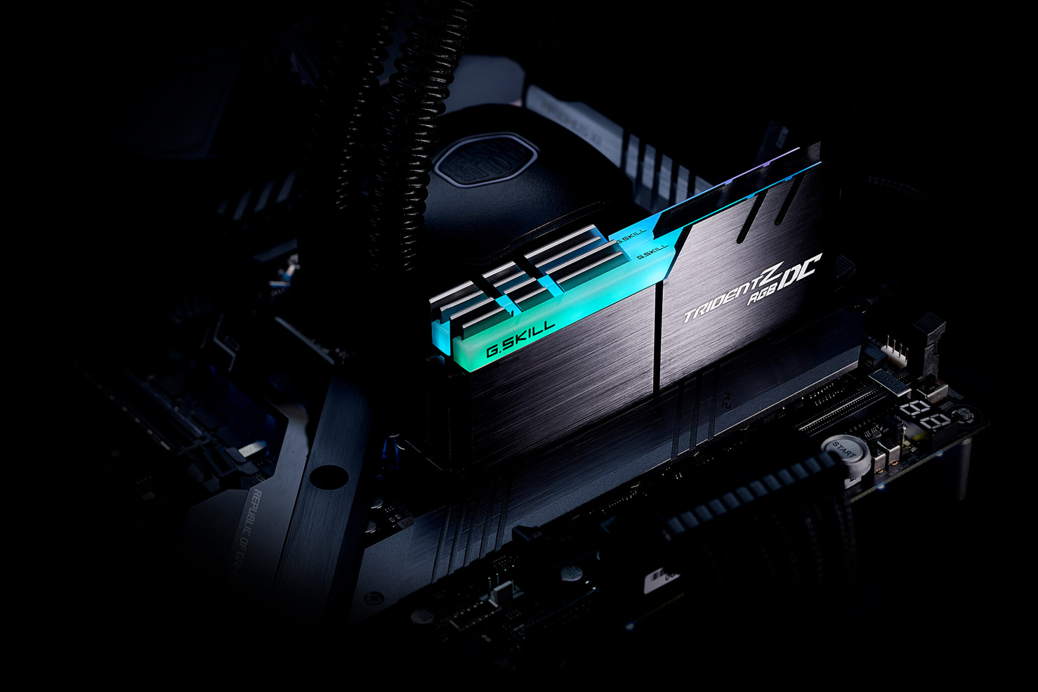 G Skill Unleashes Trident Z RGB Dual Capacity and Up To 4800