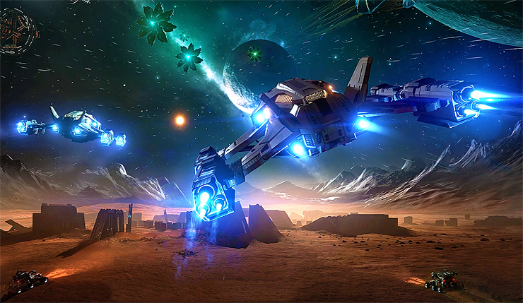 Elite Dangerous' Next Update to Add New Interstellar