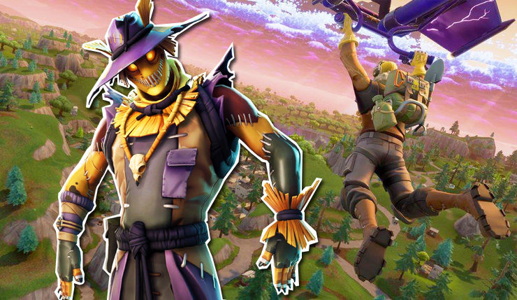 Fortnite Update Adds New Trap Playground Options Halloween Skins Leak
