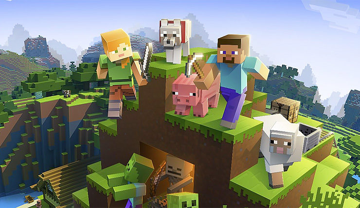 Minecraft Crossplay Finally Coming To Ps4 But Youll Need