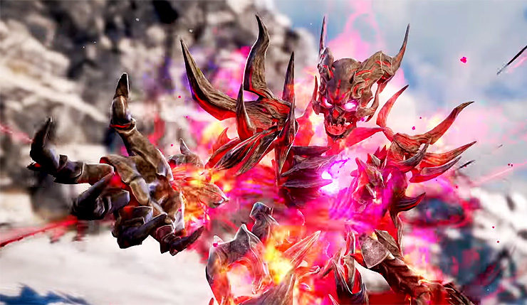 SoulCalibur VI Adds the Devilish Inferno to its Stacked Roster