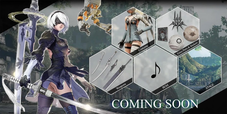 SoulCalibur VI Adding NieR: Automata Protagonist 2B to its