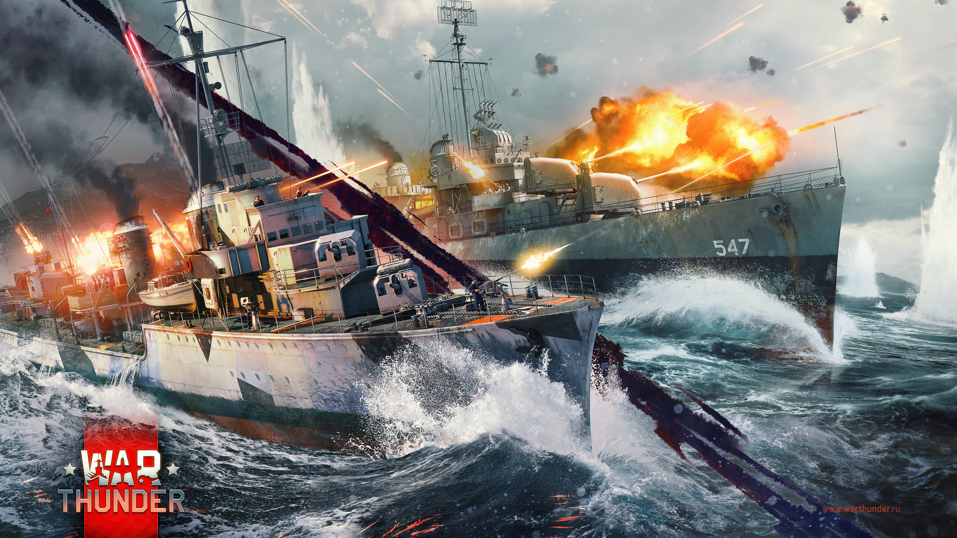 war thunder battleships