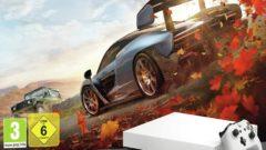 White Xbox One X forza bundle 4