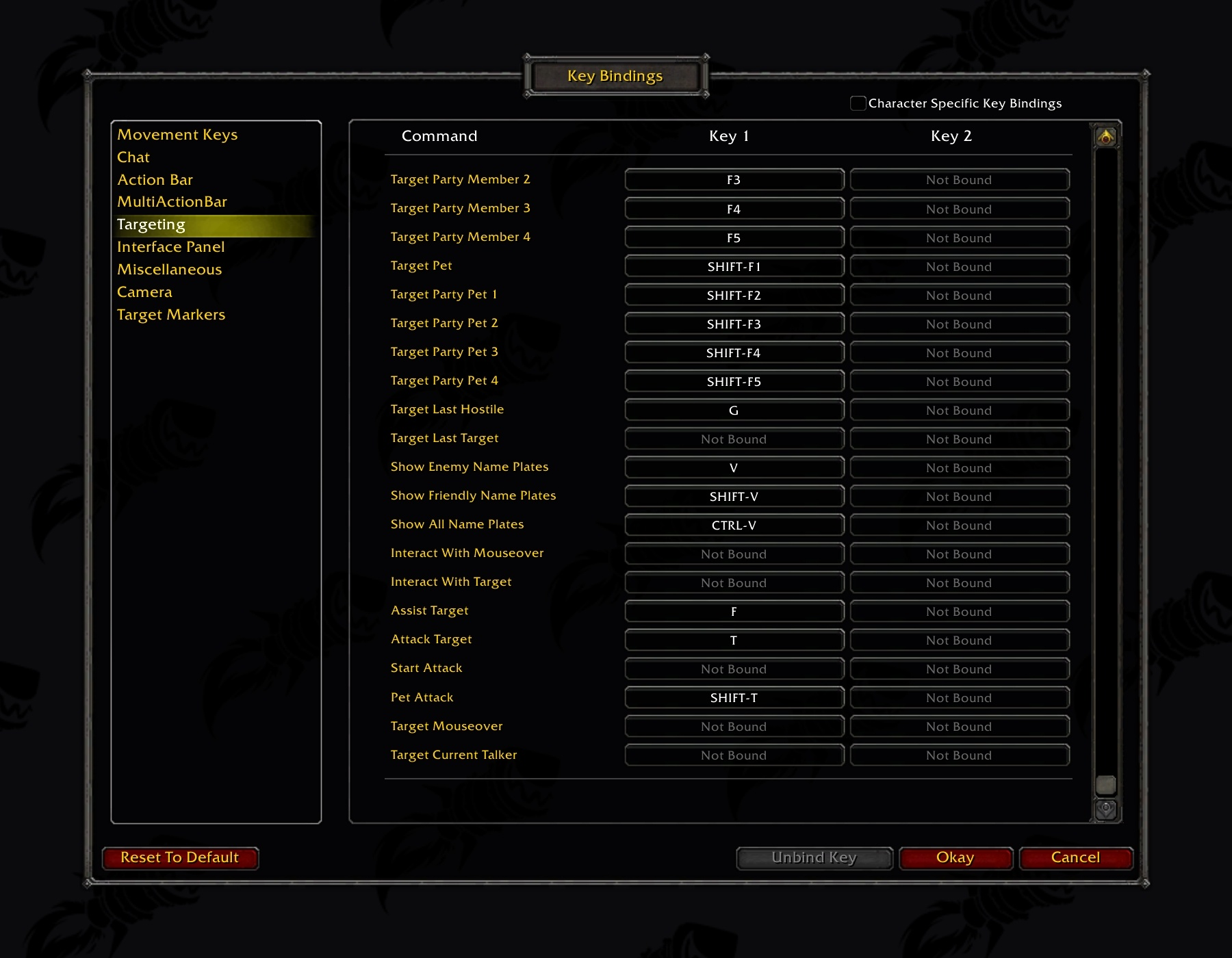 Wow Classic Demo Graphical Options, Interface Settings and