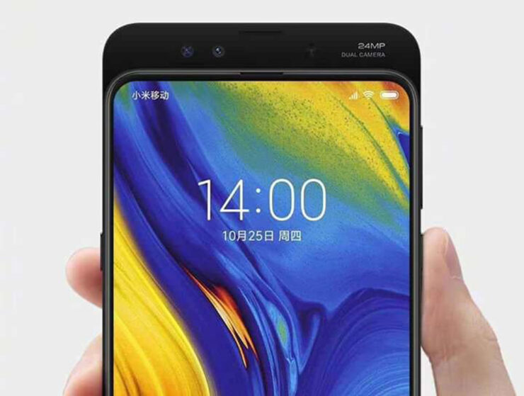 Xiaomi Mi MIX 3 alleged press render