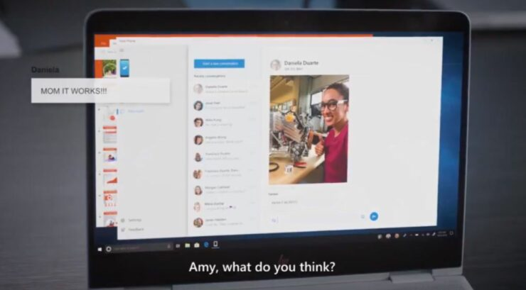 Microsoft's New 'Your Phone' App Allows You To Mirror Any