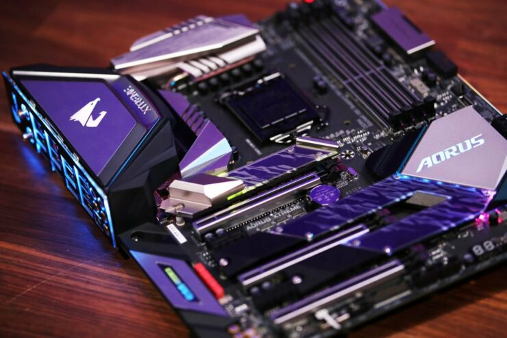 Z390 Aorus Xtreme Motherboard Unveiled Offers Beautiful