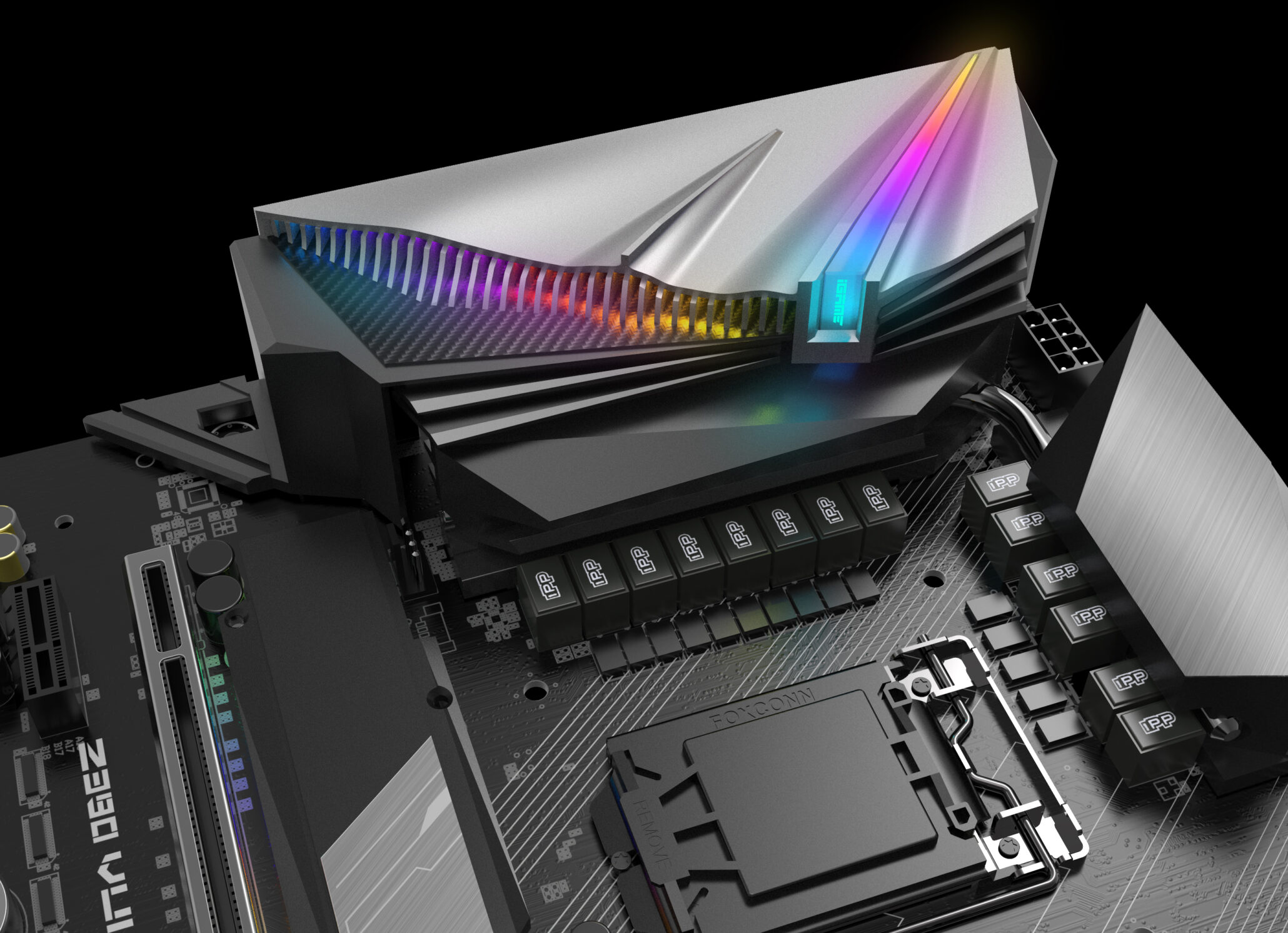 Colorful Shows Off It's Newest Motherboard The Z390 Vulcan X Motherboard