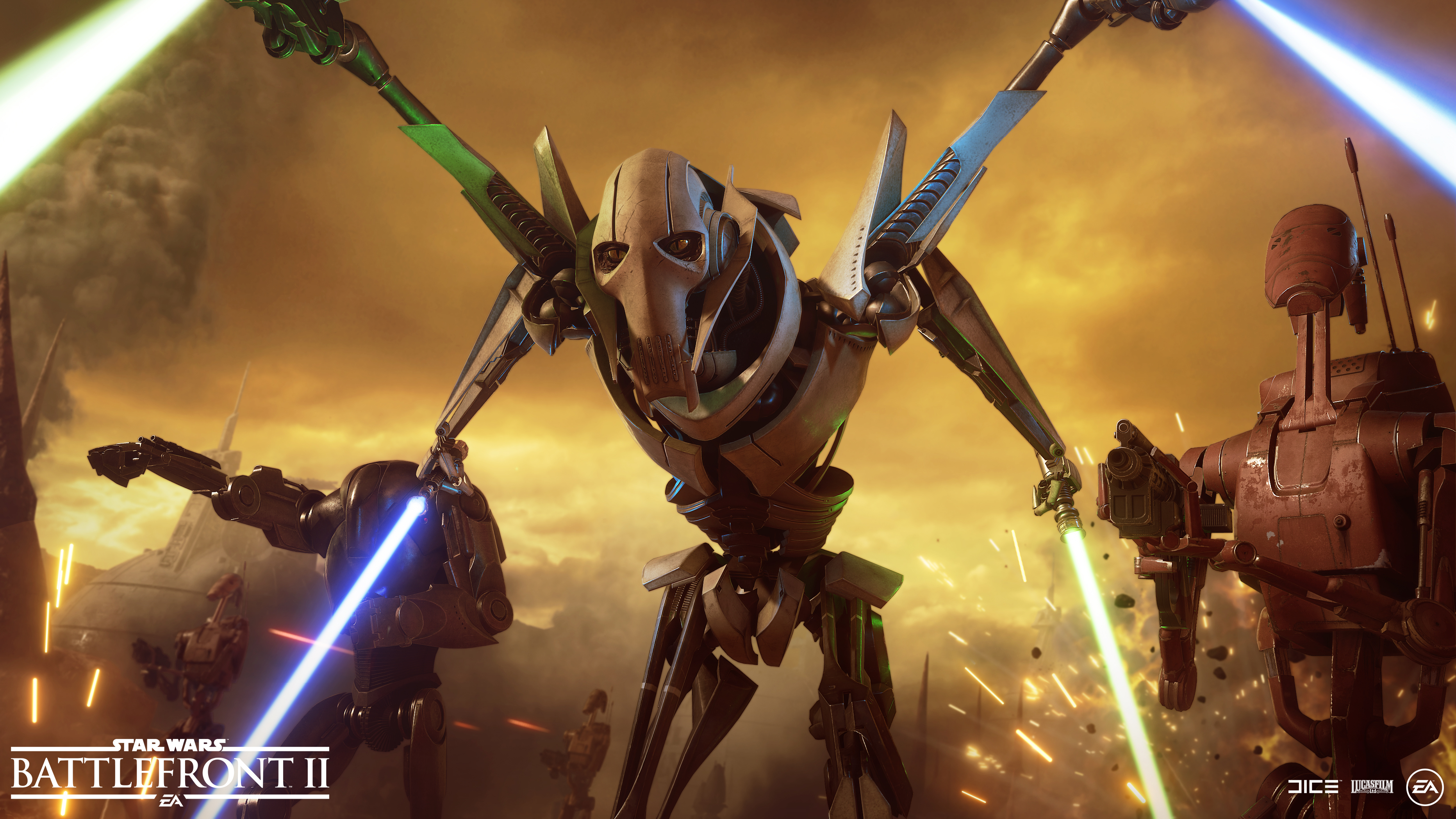 General Grievous Arrives In Star Wars Battlefront Ii Next Week Abilities Star Cards Appearances And Voice Lines Detailed
