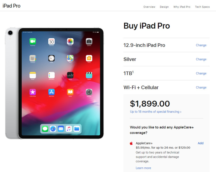 Here's What the Most Expensive iPad Pro Model Is Going to ...