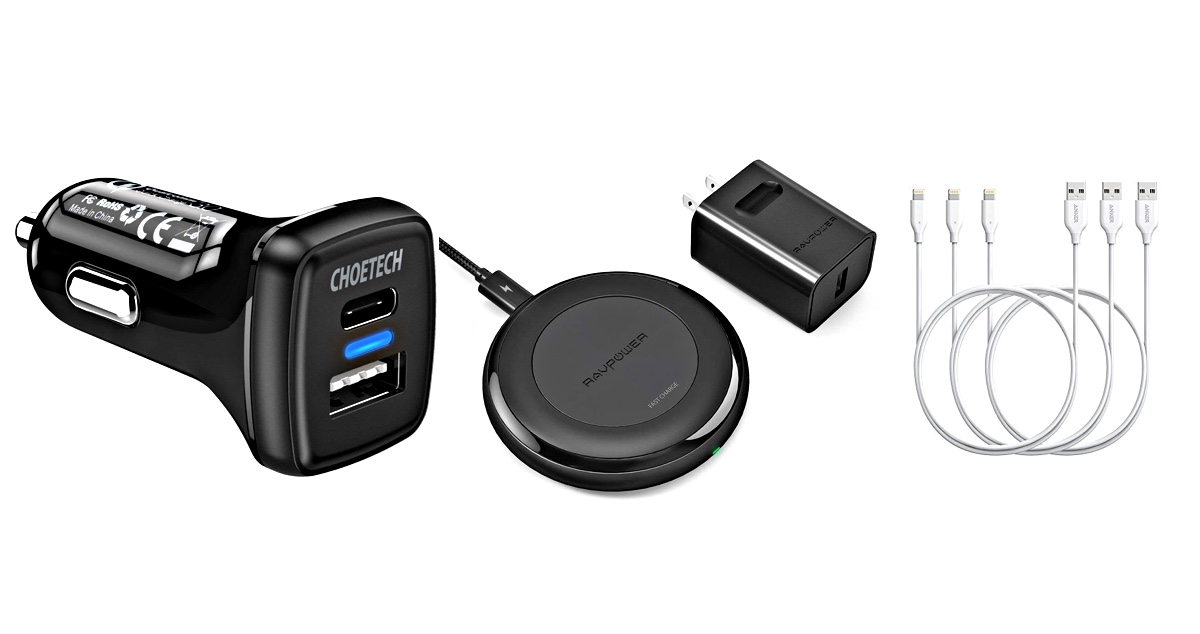 best service 1d8be 138a5 Best iPhone XR Fast Car Chargers, Wireless Chargers, Lightning Cables
