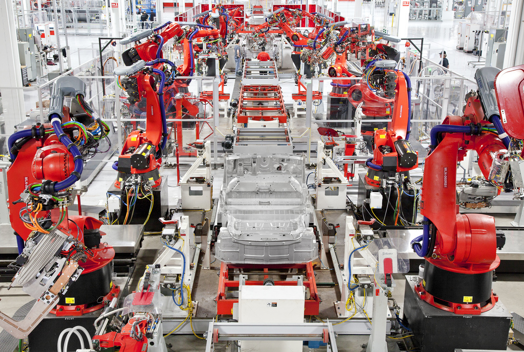 Tesla production