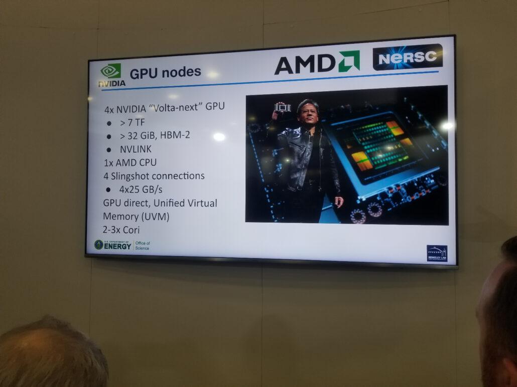 AMD NVIDIA Perlmutter Supercomputer