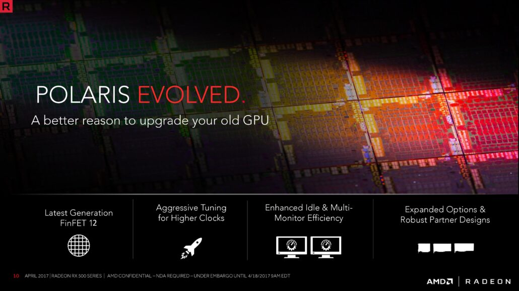 AMD Radeon RX 600 Series Polaris GPU Rebrands