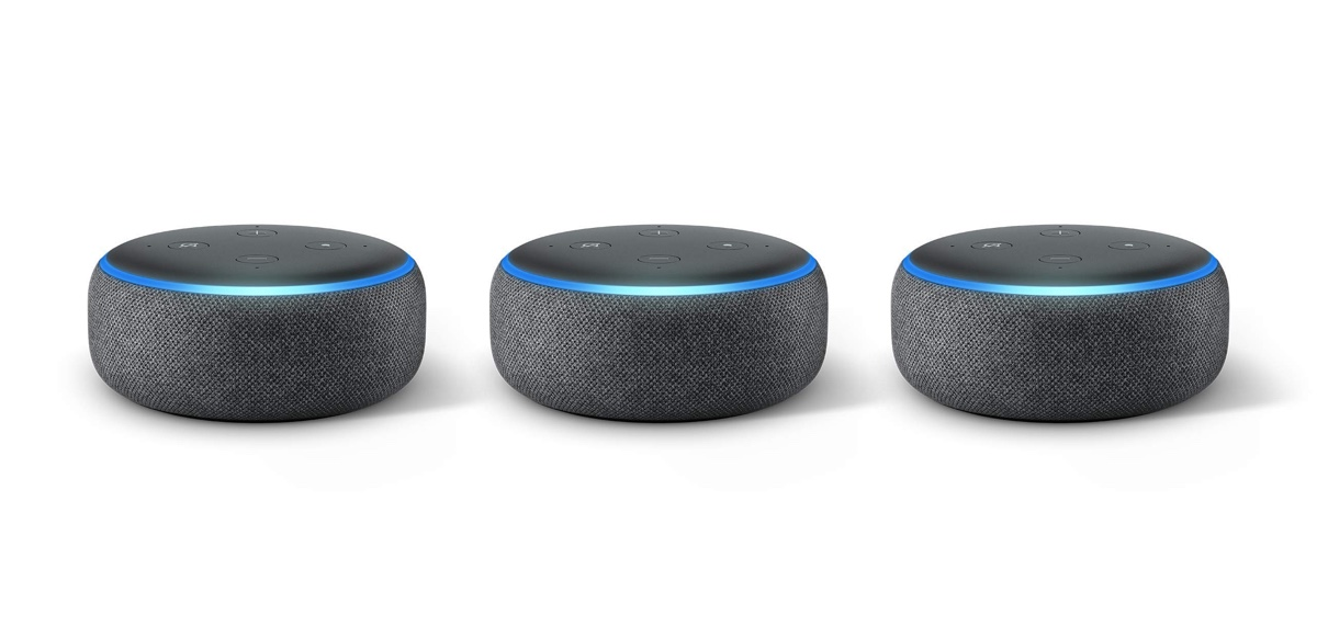 early black friday 2018 deal buy three 3rd gen echo dot. Black Bedroom Furniture Sets. Home Design Ideas