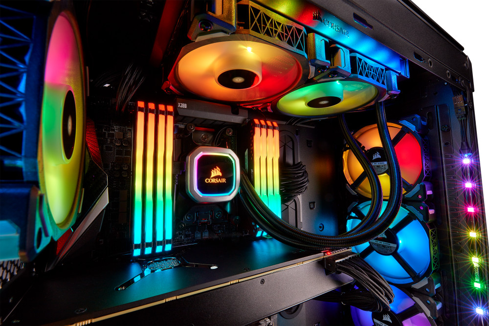 Corsair Launches New Hydro H100i and H115i RGB Platinum CPU Coolers