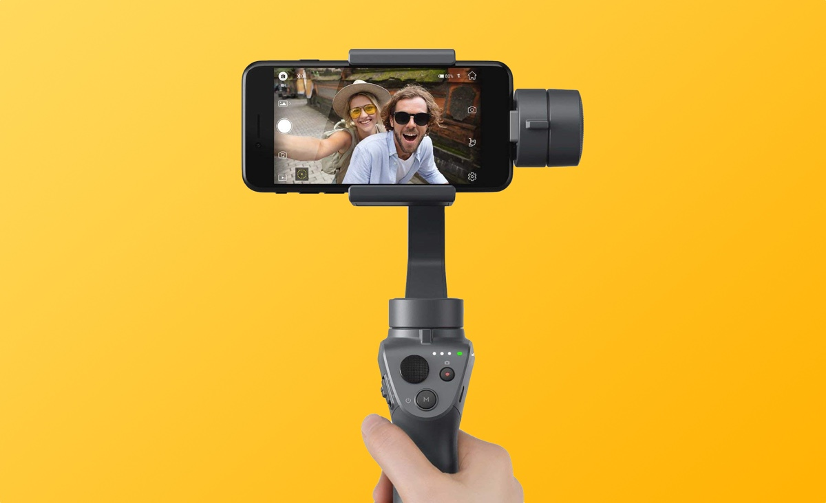 Black Friday 2018 Deal Get The Dji Osmo Mobile 2 Gimbal And Stabilizer For Just 12495 Usually 19999