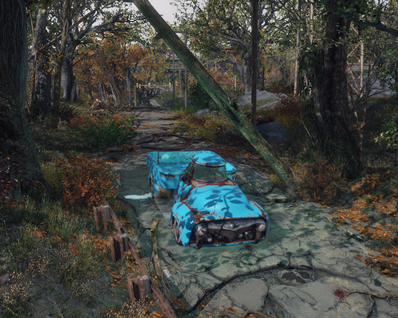 Fallout 4 New Mod Adds Several Drivable Cars