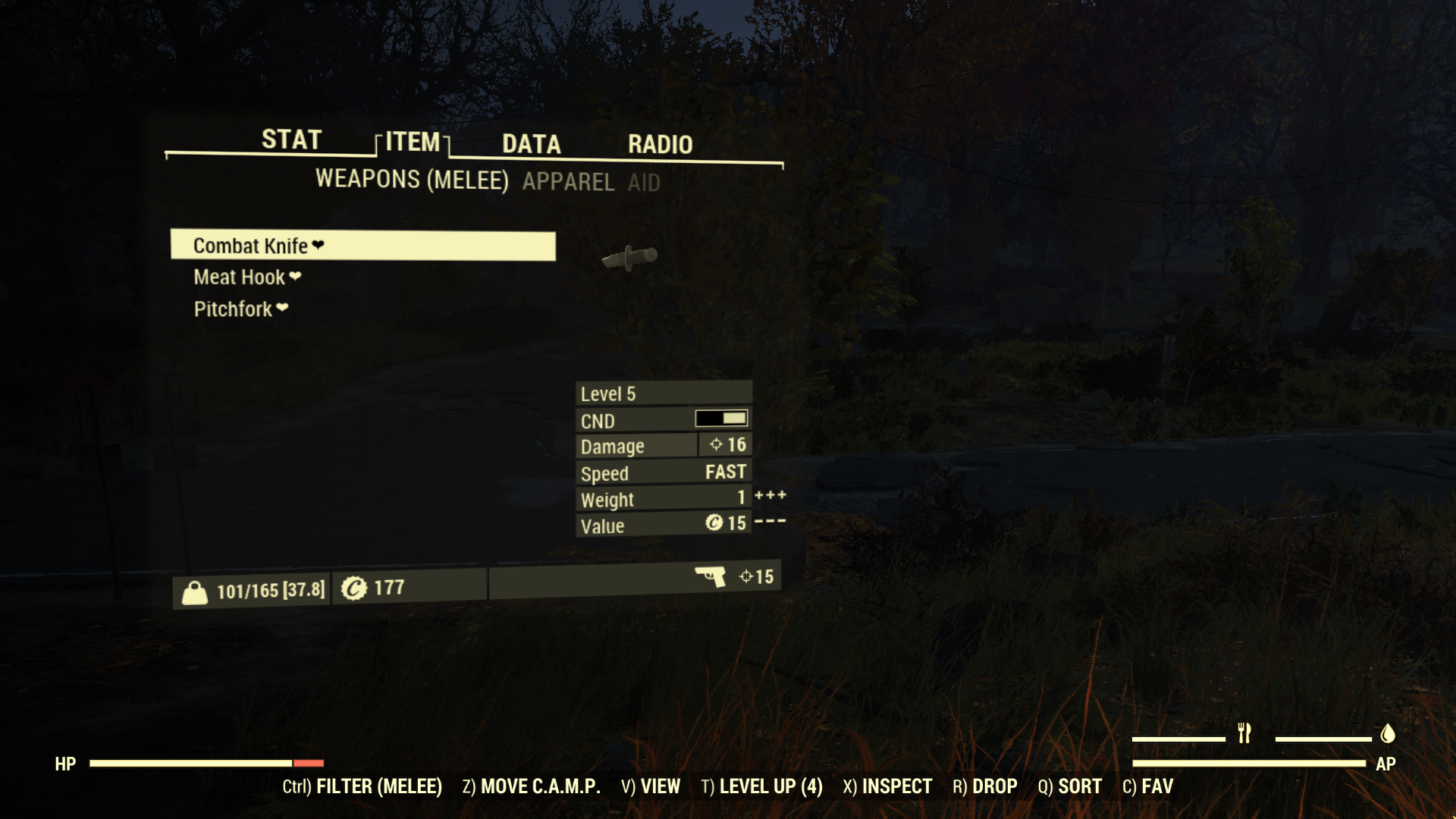 Fallout 76 Better Inventory Mod Vastly Improves Inventory