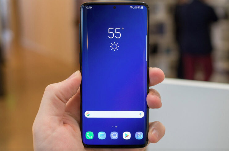 Galaxy Note 9 firmware update Galaxy S10 design