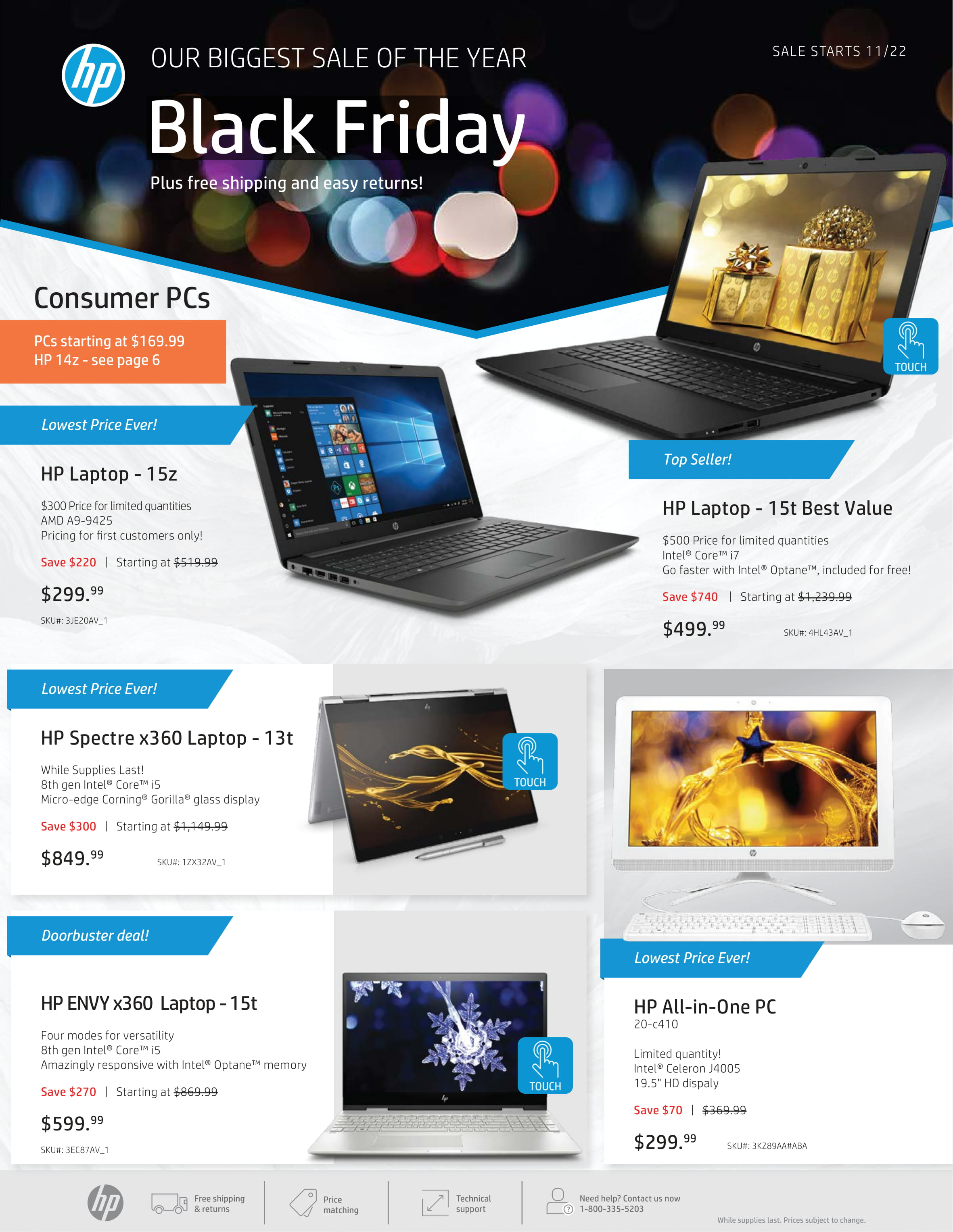 Hp S Massive Black Friday Sale Is Now Live Insane Deals With Up To 60 Off