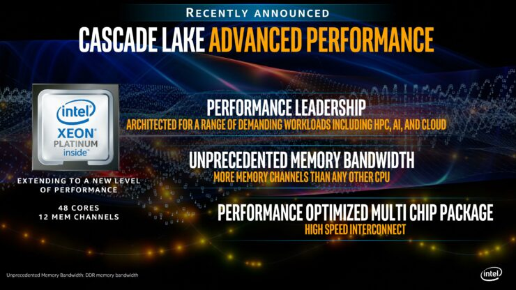 Intel Unveils More Cascade Lake-AP 48 Core Xeon CPU Performance Numbers –  Up To 3 4X Faster Than AMD EPYC 32 Core CPU