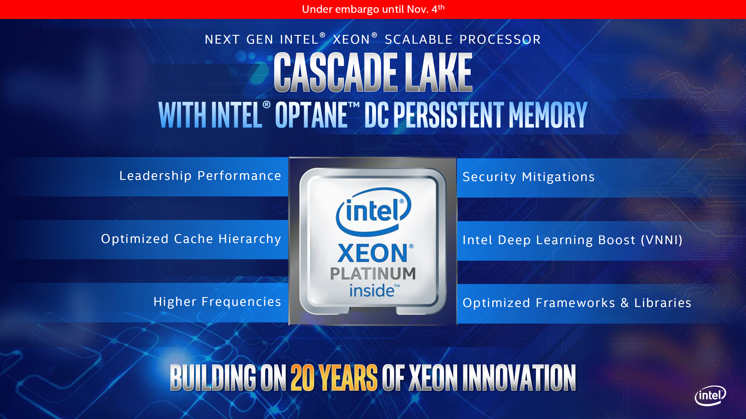 Intel's Cascade Lake-X HEDT Lineup - More of the Same, No