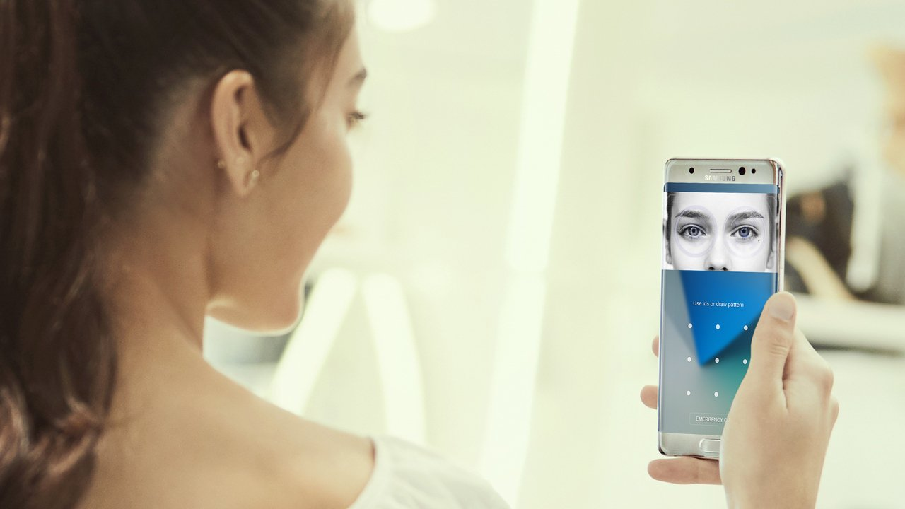 Galaxy S10 no iris scanner