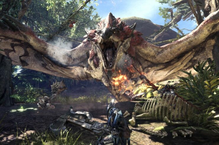 free Monster Hunter World Trial
