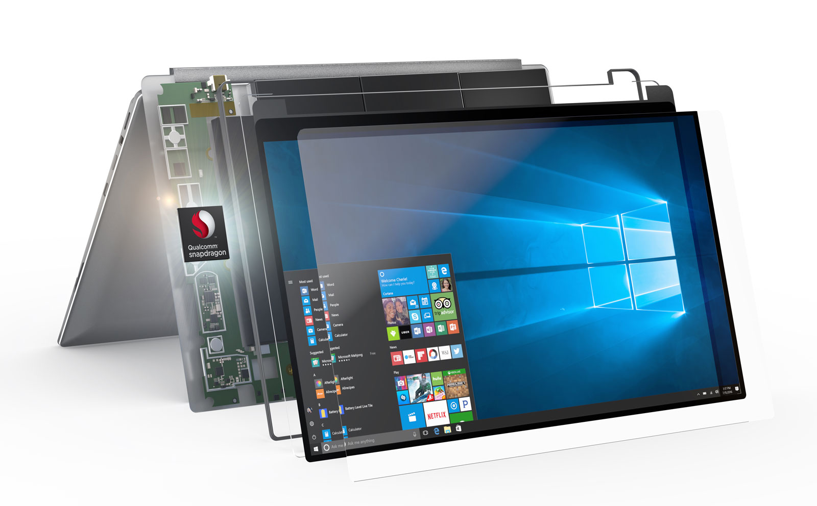 Windows 10 Notebooks Running Snapdragon SoCs Will Now Support ARM64