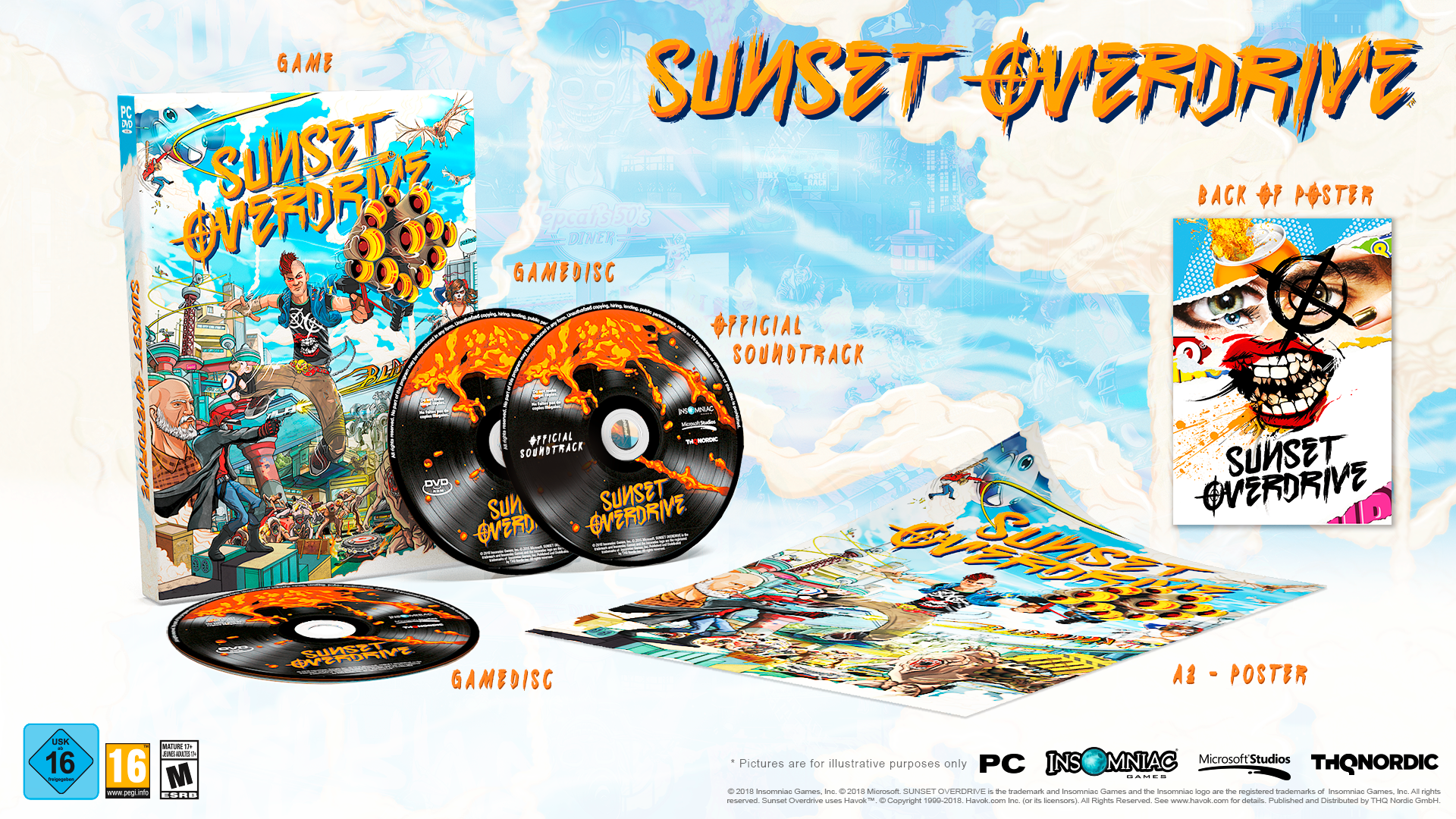 Sunset Overdrive Out Now on PC (Microsoft Store or Steam