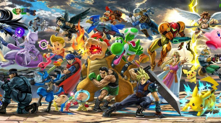 Super Smash Bros Ultimate Patch Day 1