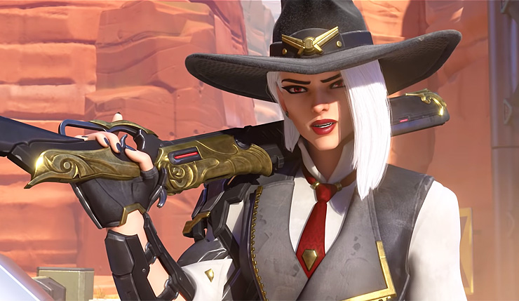 Overwatch's 29th Hero is the Rifle-Wielding Bandit Ashe