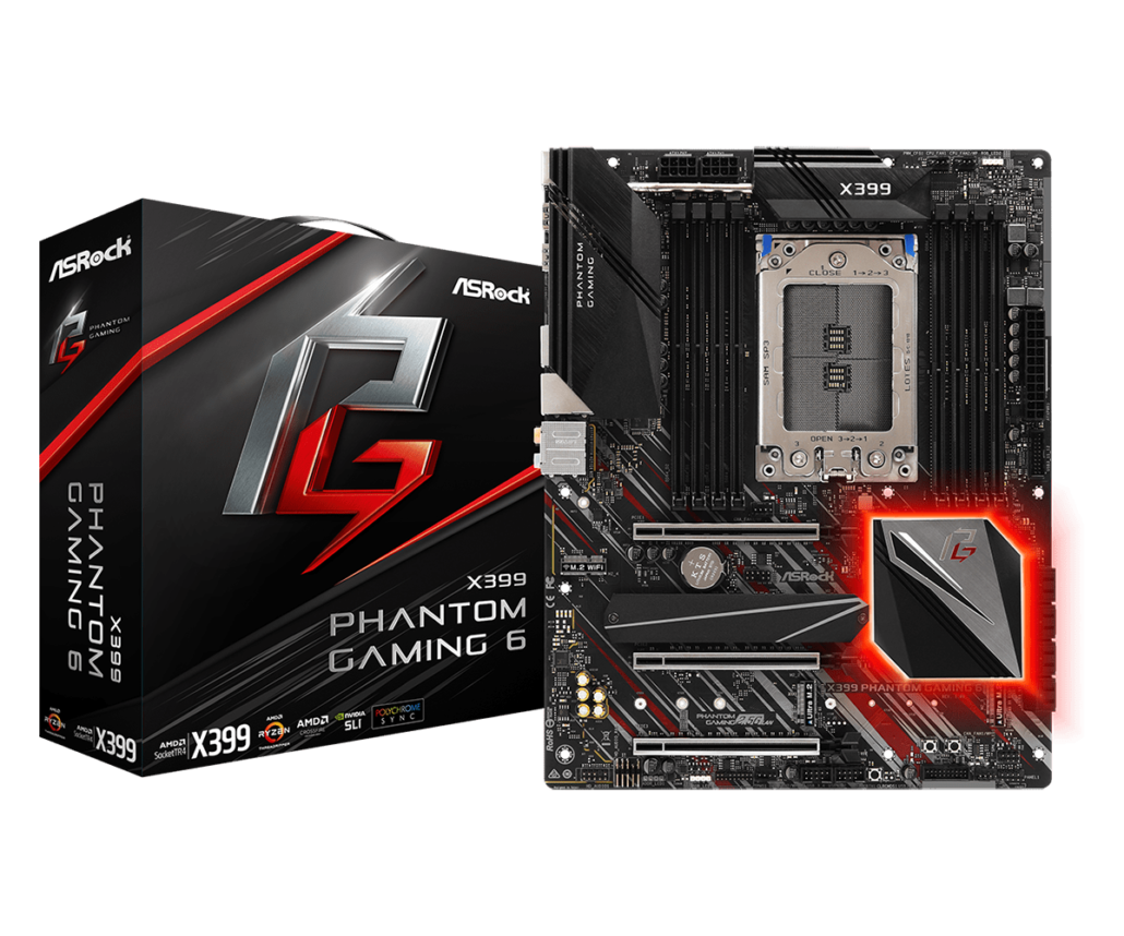 ASRock X399 Phantom Gaming 6 Motherboard