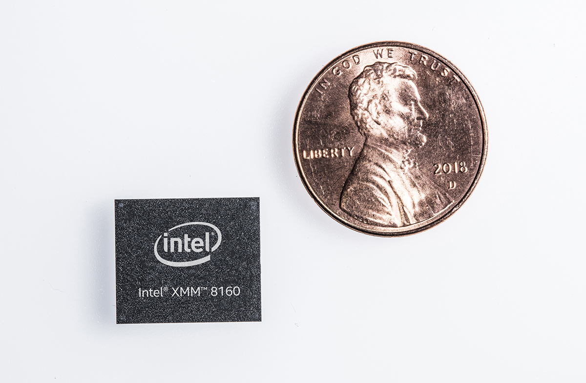intel announces its xmm 8160 5g modem ready in 2020 with peak