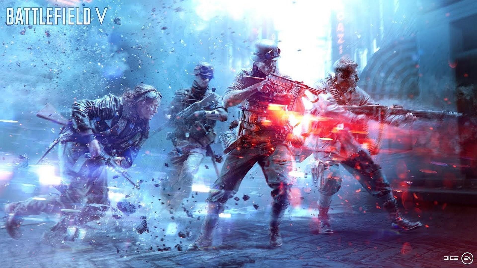 Battlefield v review not yet fully victorious - Battlefield v concept art wallpaper ...
