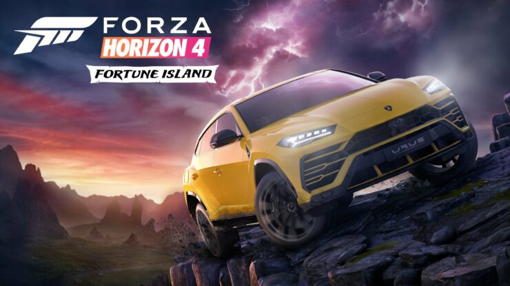 forza horizon 4 39 s first expansion is fortune island. Black Bedroom Furniture Sets. Home Design Ideas