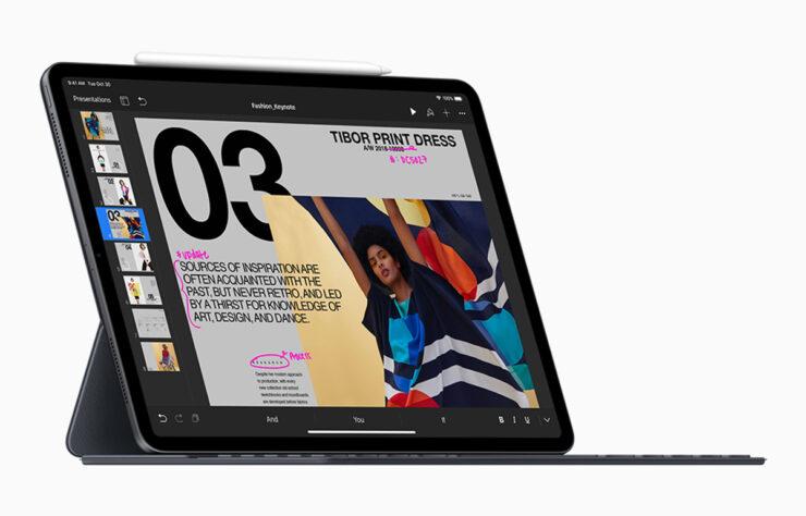 iPad Pro video editing performance 3x faster