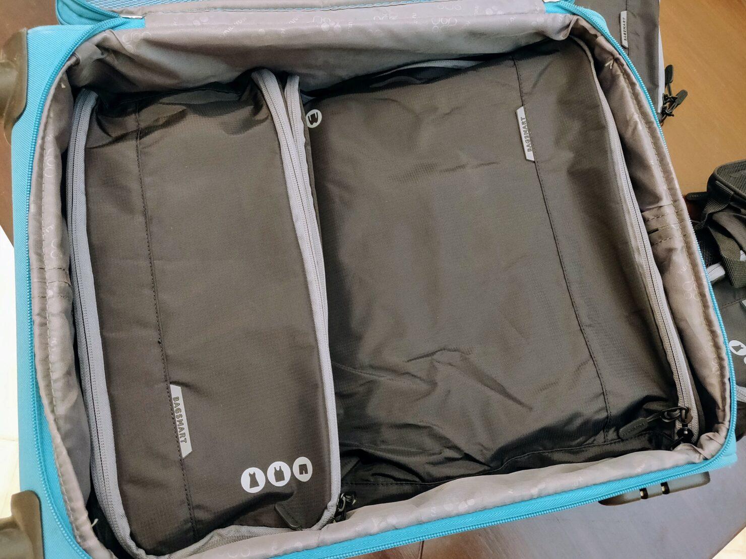 luggage organizer