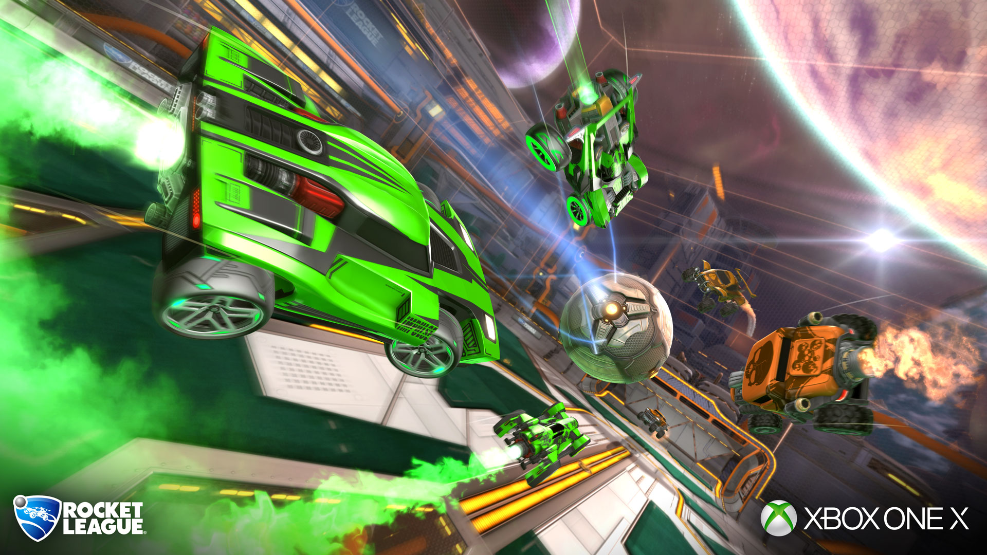 Rocket League Getting Native 4K@60 and HDR Support on Xbox One X