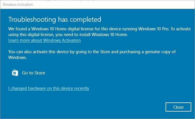 windows 10 pro license bug windows 10 pro license bug