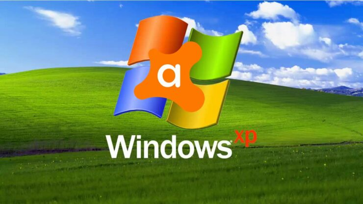 microsoft windows xp avast