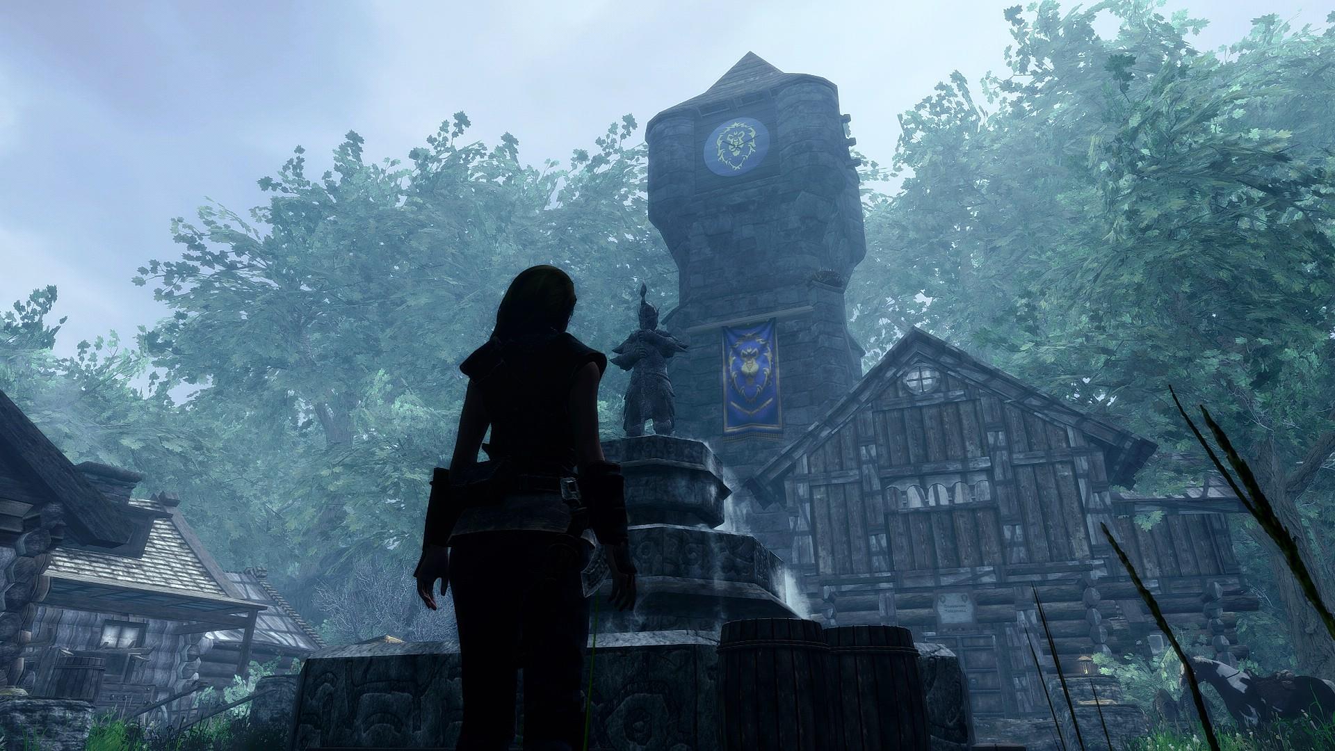 Azeroth in Skyrim Warcraft Mod Recreates Warcraft's Azeroth in