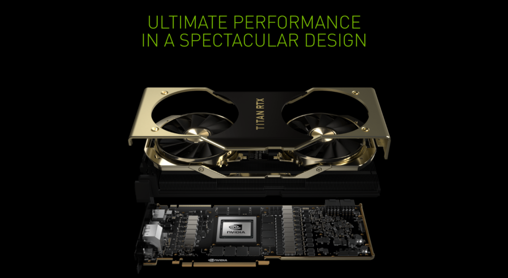 NVIDIA Titan RTX Graphics Card