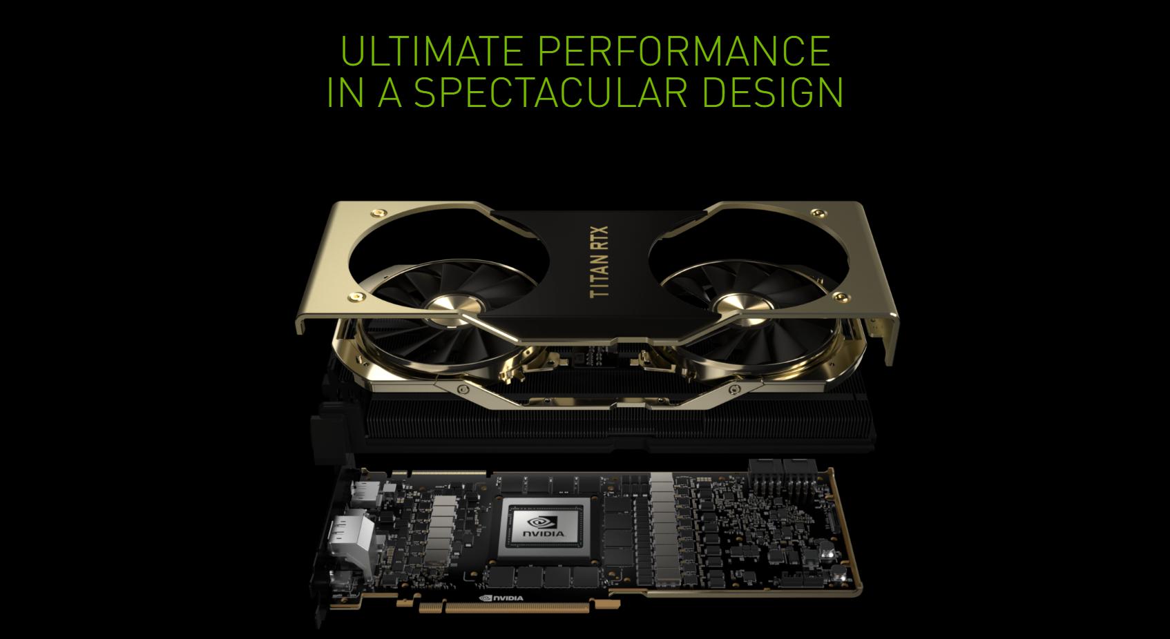 NVIDIA Titan RTX Flagship Graphics Card 3DMark Benchmark
